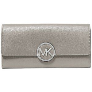 NWT MICHAEL KORS LILLIE LG GUSSET CARRYALL WALLET